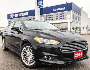2014 Ford Fusion LOCAL TRADE!  ALL WHEEL DRIVE LOADED! SEDAN .