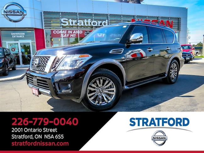2018 Nissan Armada Platinum Reserve|Leather|Navi|360Cam|Sunroof|DVD Wagon