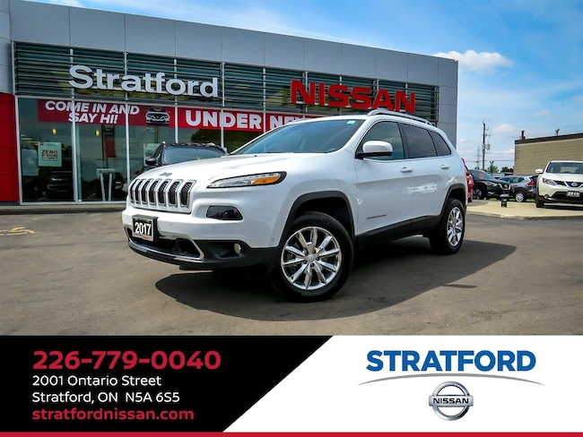 2017 Jeep Cherokee Limited|4x4|Leather|BT|Backup Cam|Sunroof Wagon