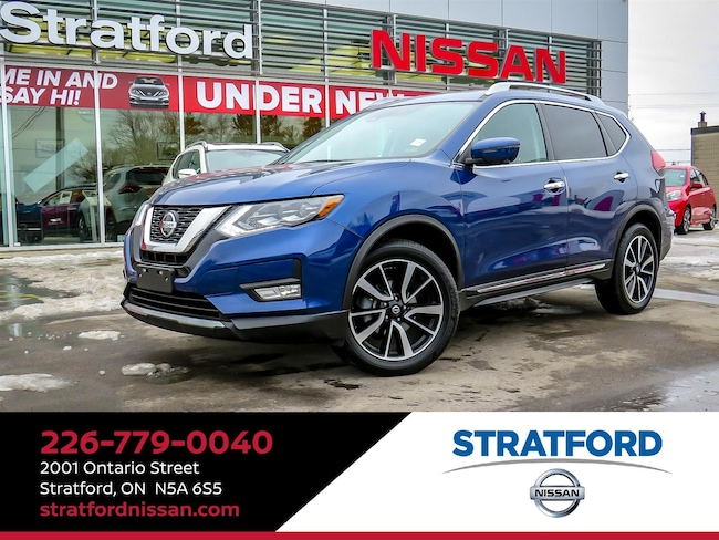 2018 Nissan Rogue SL|AWD|Leather|360cam|Navi|Heated seat|Sunroof SUV