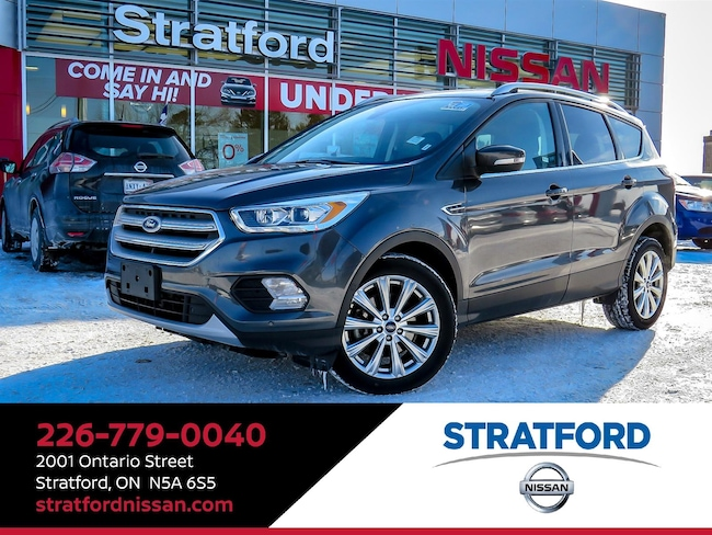2018 Ford Escape Titanium|4WD|Leather|BT|Navi|Sunroof SUV