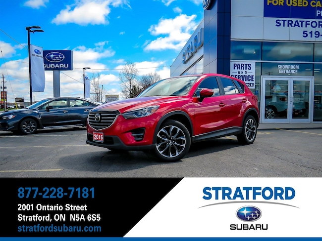 2016 Mazda CX-5 Grand Touring|AWD|Leather|BT|NAV|Backup Cam SUV