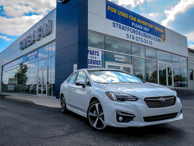 2019 Subaru Impreza |Leather|Eyesight|Backup Camera|BT|Navi|Spoiler Sedan