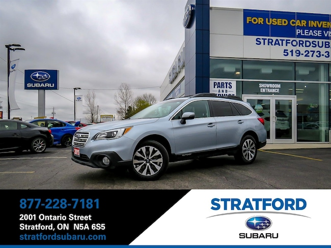 2015 Subaru Outback 2.5i|Limited|Leather|BT|NAV|Backup Cam|Sunroof Wagon