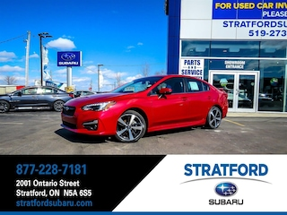 2019 Subaru Impreza Sport-tech|Leather|BT|Navi|Heated Seat|Sunroof Sedan