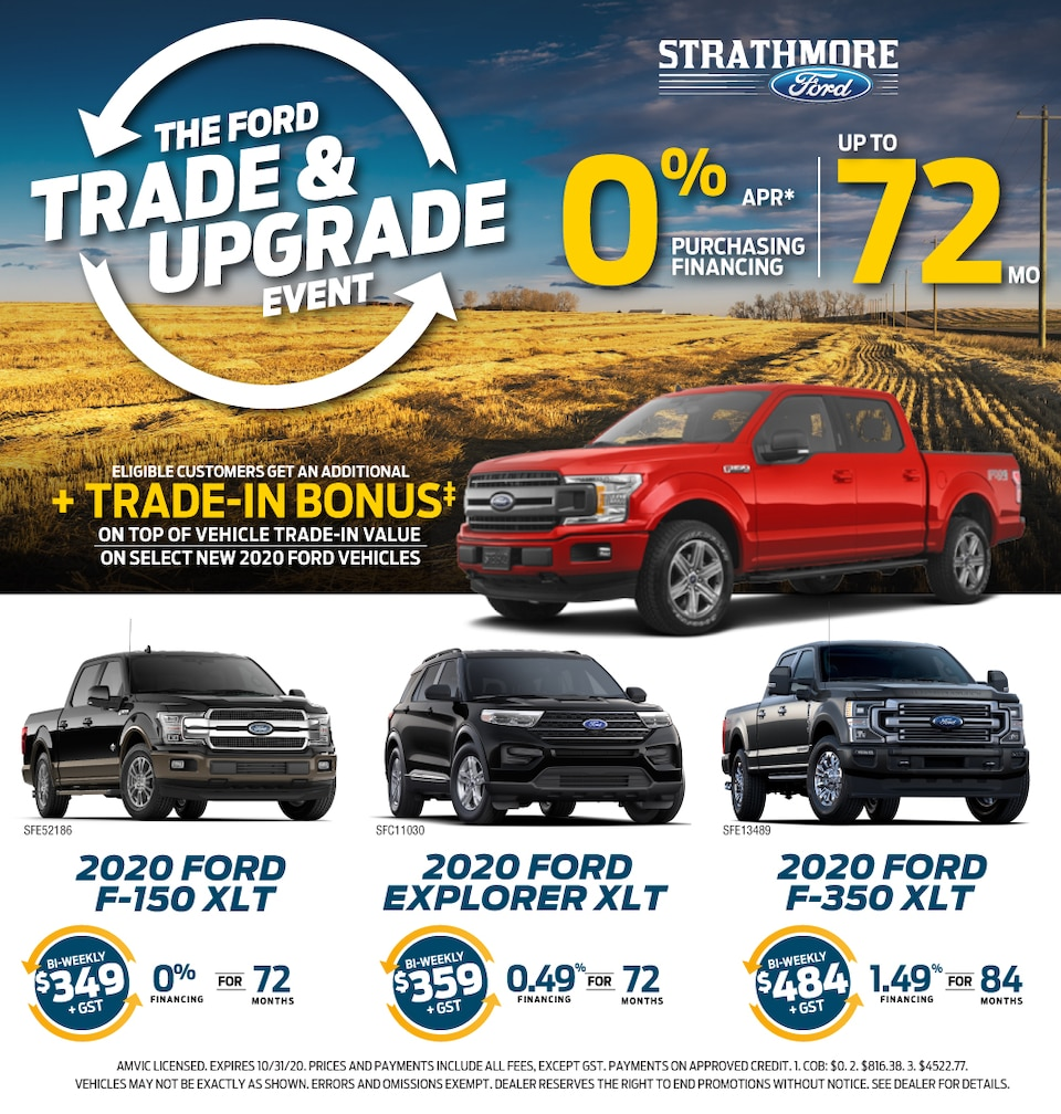 Trade & Upgrade Event