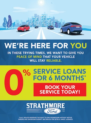 0% Service Loans for 6 Months