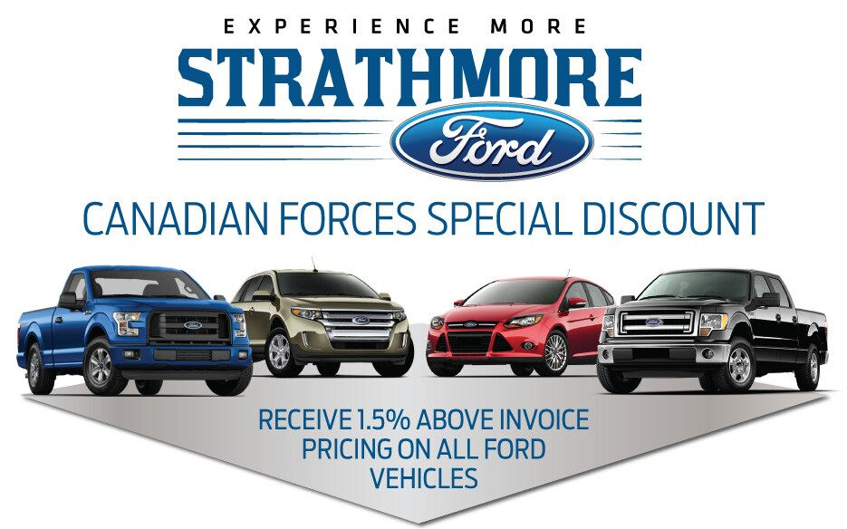 Military Discount - All ford vehicles