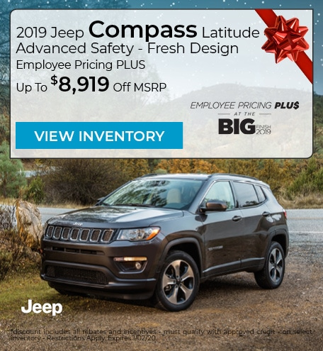 2019 Jeep Compass Latitude 4x4 Advanced Safety - Fresh Design