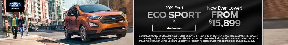 2019 Eco Sport S