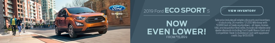 2019 Ford Eco Sport S