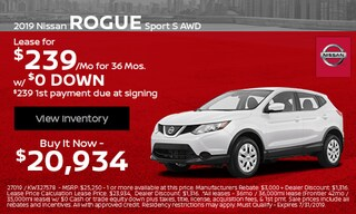 2019 Nissan Rogue Sport S AWD