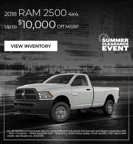 2018 Ram 2500 4x4