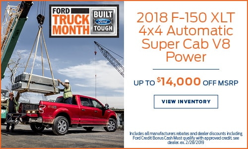 New 2018 Ford F-150 XLT 4x4 MSRP