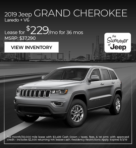 2019 Jeep Grand Cherokee Laredo + V6
