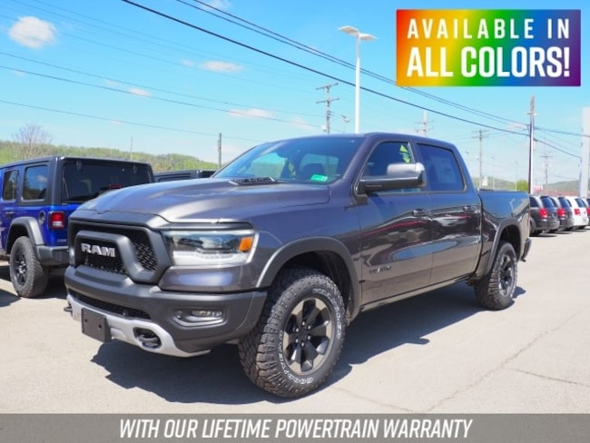 New 2019 Ram 1500 REBEL CREW CAB 4X4 5'7 BOX Crew Cab for sale or lease in Wheeling, WV near St. Clairsville, OH