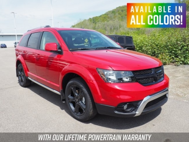 New 2019 Dodge Journey CROSSROAD AWD Sport Utility for sale or lease in Wheeling, WV near St. Clairsville, OH