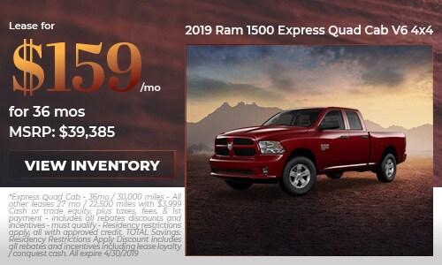 2019 Ram 1500 Express Quad Cab