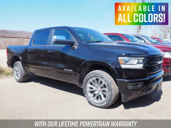 New 2019 Ram 1500 LARAMIE CREW CAB 4X4 5'7 BOX Crew Cab for sale or lease in Wheeling, WV near St. Clairsville, OH