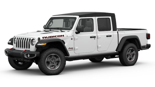 New 2020 Jeep Gladiator RUBICON 4X4 Crew Cab for sale or lease in Wheeling, WV near St. Clairsville, OH