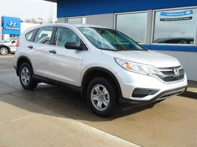 Certified Pre-owned 2016 Honda CR-V LX SUV for sale in Wheeling, WV near St. Clairsville OH