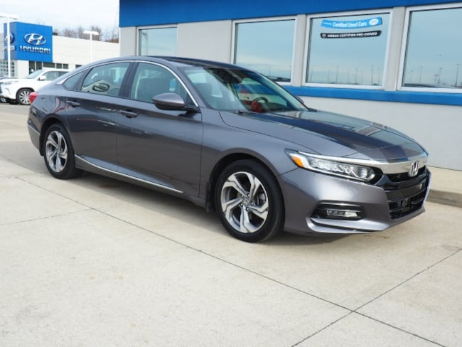 Certified Pre-owned 2018 Honda Accord EX-L Sedan for sale in Wheeling, WV near St. Clairsville OH