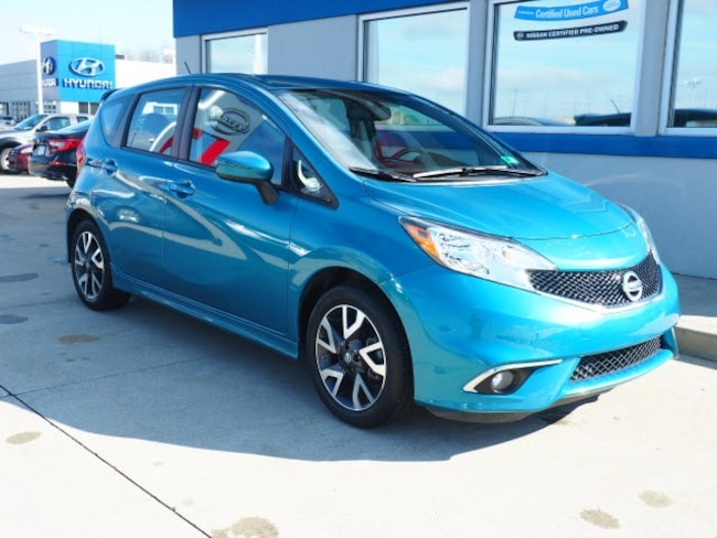 used 2016 nissan versa note for sale at straub honda | vin