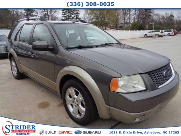 Used 2005 Ford Freestyle For Sale Asheboro Nc Vin1fmdk02125ga10914
