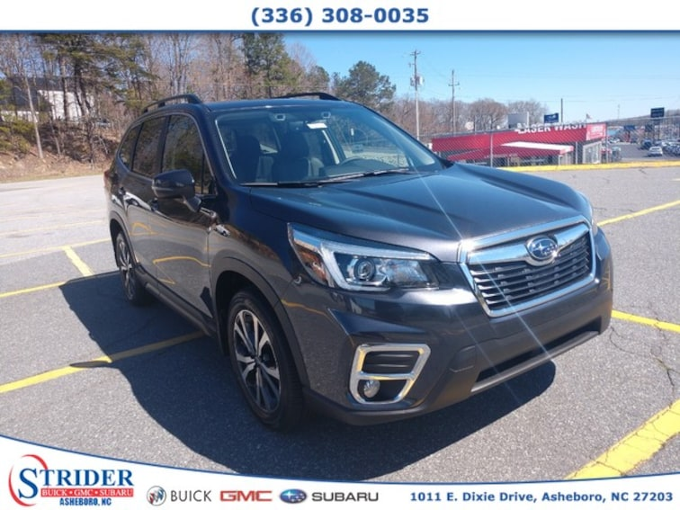 New 2019 Subaru Forester Limited SUV for sale in Asheboro, NC