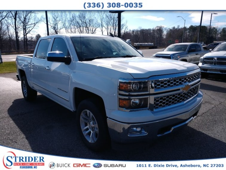 Used 2015 Chevrolet Silverado 1500 LTZ in Asheboro