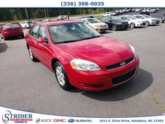Bargain Used 2008 Chevrolet Impala LT Sedan Under $10,000 for Sale in Asheboro, NC