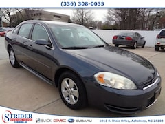Bargain Used 2011 Chevrolet Impala LS Fleet Sedan Under $10,000 for Sale in Asheboro, NC