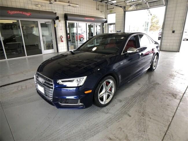 Certified Pre-Owned 2018 Audi S4 3.0T Premium Plus Sedan For Sale Salt Lake City Utah