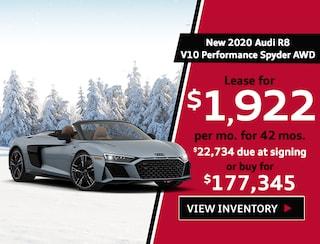 New 2020 Audi R8 V10 Performance Spyder AWD