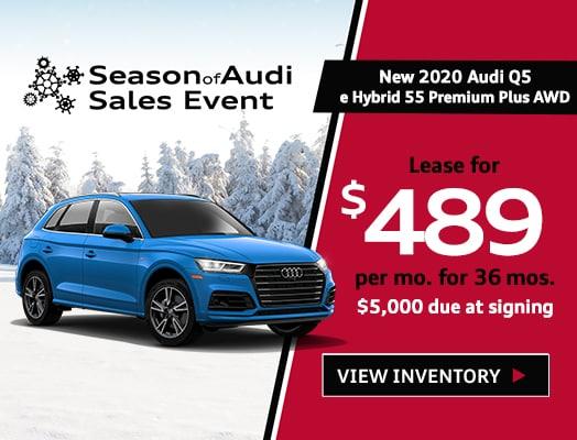 New 2020 Audi Q5 e Hybrid Premium Plus SUV AWD