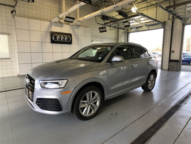 Certified Pre-Owned 2018 Audi Q3 2.0T Premium SUV For Sale Salt Lake City Utah