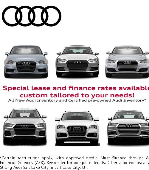 Audi Finance Specials Audi Specials Near Bountiful UT - Audi finance
