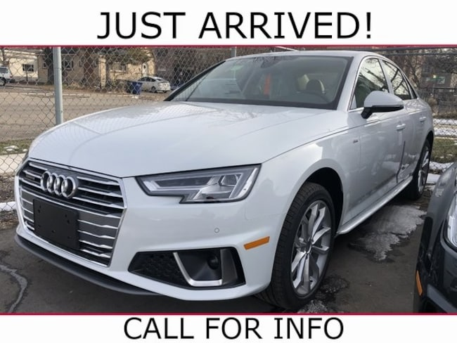 New 2019 Audi A4 2.0T Premium Plus Sedan WAUENAF42KA015911 for sale/lease Salt Lake City UT