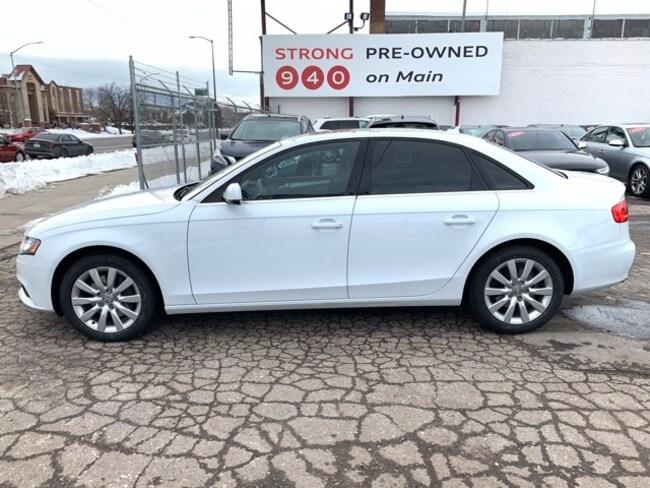 Used 2012 Audi A4 2.0T Premium Sedan for sale Salt Lake City UT