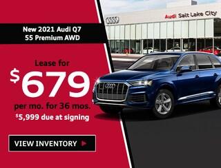 New 2021 Audi Q7 55 Premium AWD