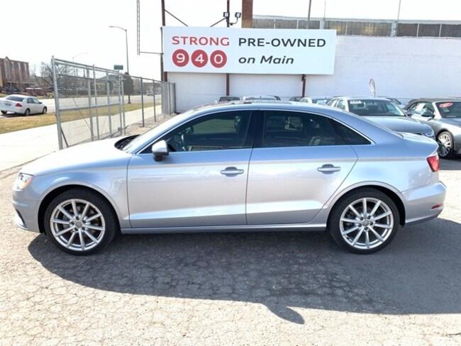 Used 2015 Audi A3 2.0T Premium Plus Sedan for sale Salt Lake City UT