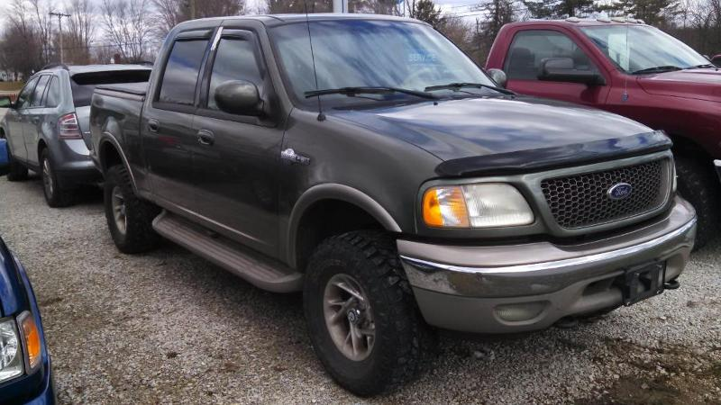 2002 Ford F-150 King Ranch Crew Cab Short Bed Truck