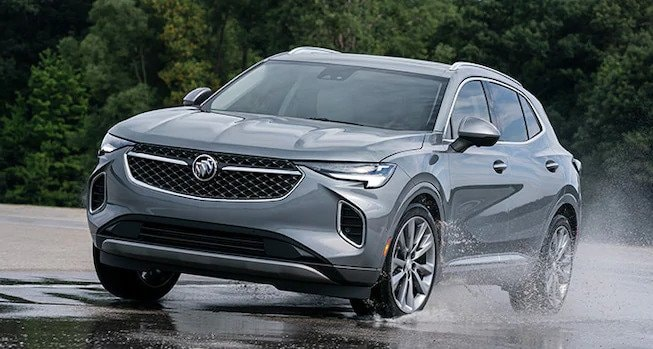 2021 Buick Envision Build