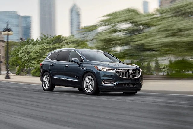 2021 Buick Enclave Avenir Advanced Suspension