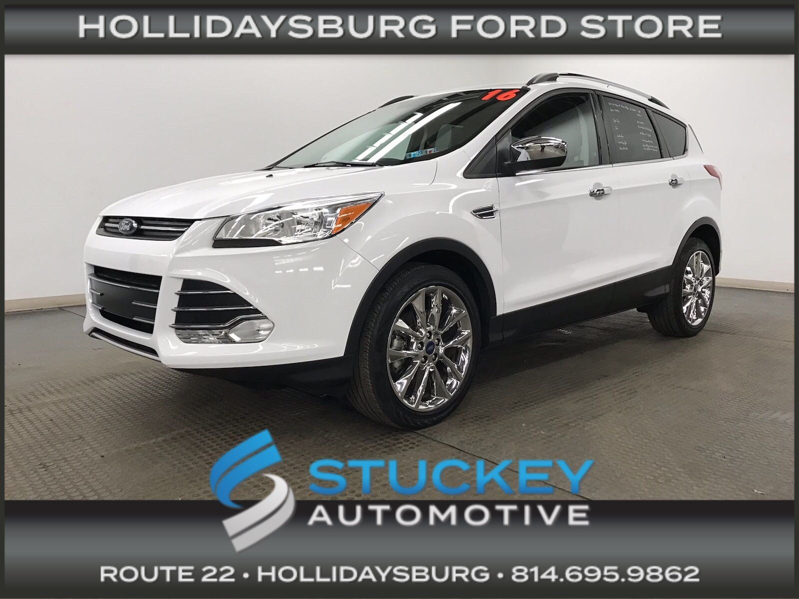 2016 Ford Escape SE Chrome Package 1.6L EcoBoost 4WD SUV