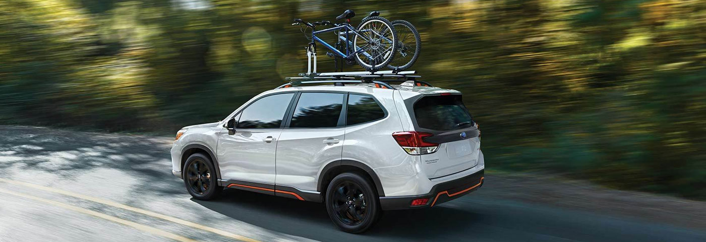 2020 Subaru Forester at Stuckey Subaru