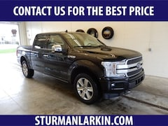 Used  2018 Ford F-150 Platinum Crew Cab Short Bed Truck for sale in Pittsburgh, PA