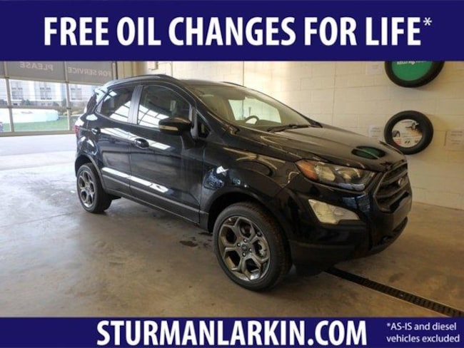 New 2018 Ford EcoSport SES SUV for sale in Pittsburgh PA