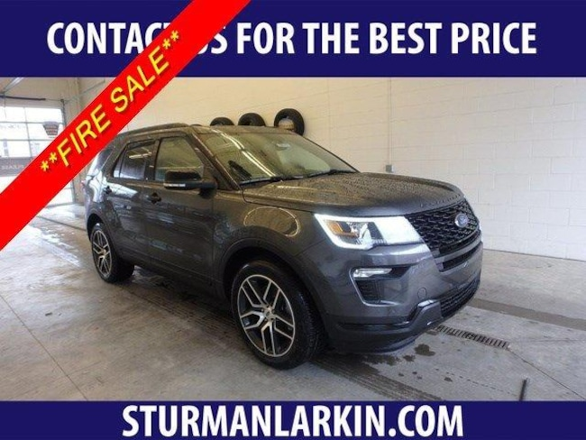 New 2019 Ford Explorer Sport SUV for sale in Pittsburgh PA