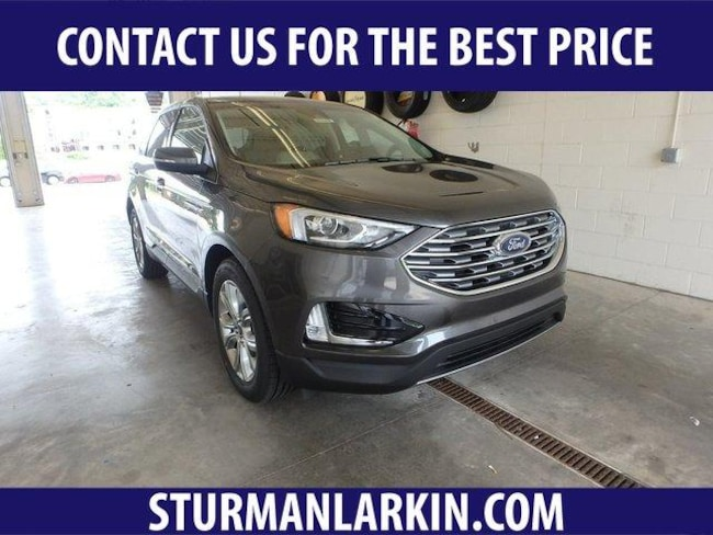 New 2019 Ford Edge Titanium SUV for sale in Pittsburgh PA